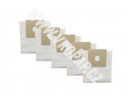 tvar původního kartonu obkreslete a nůžkami vystříhněte. - textilní sáček do vysavače (X002T)