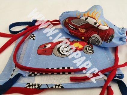 """Rouška dětská - Auta """"Cars"""" (3-8 let)"""