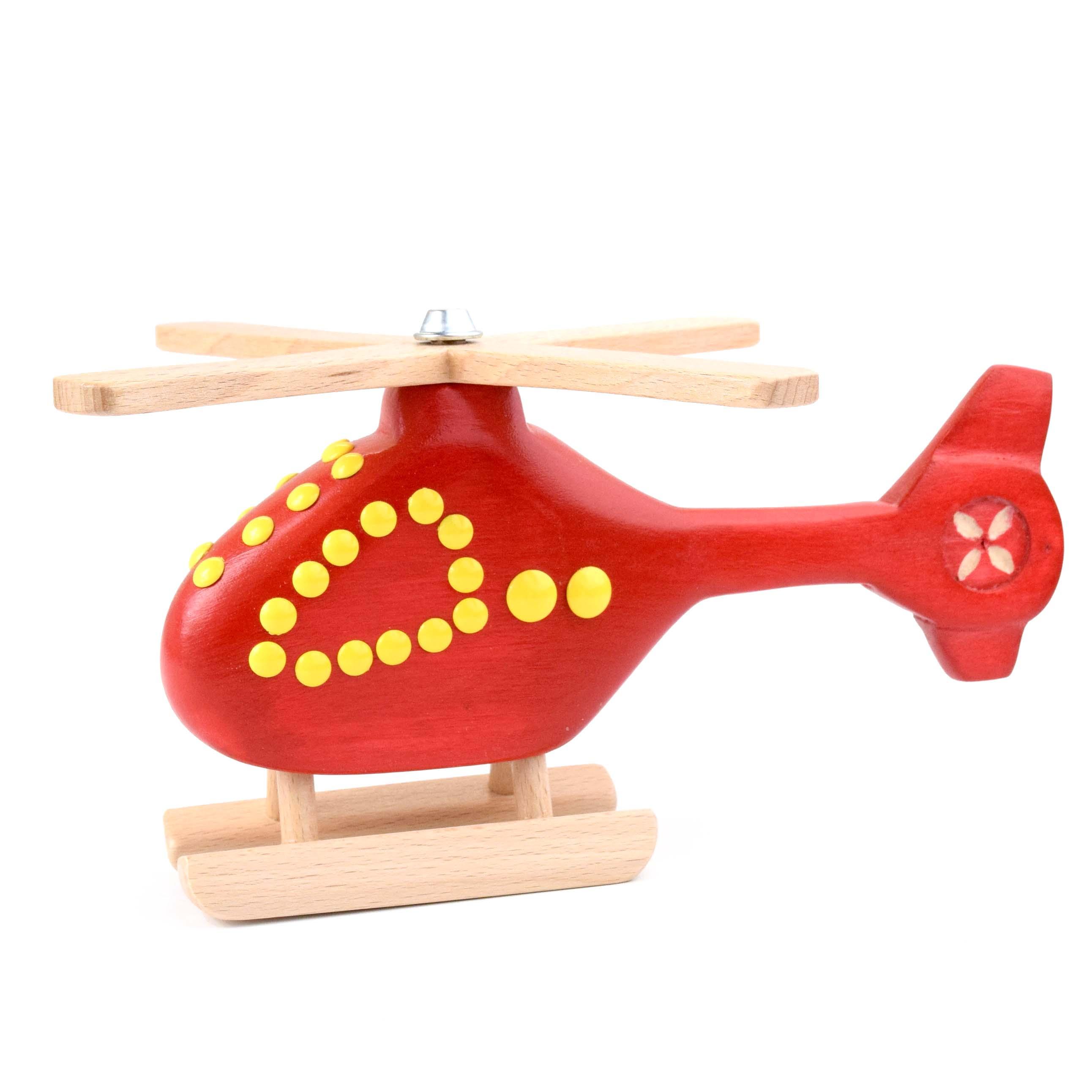 Vrtulníky různých barev opět v nabídce