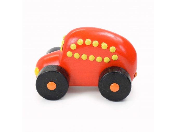 DR12 Auto osobní oranžové