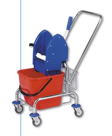 Jednokbelíkové úklidové vozíky