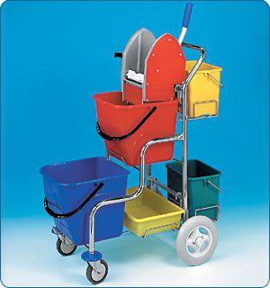 Doplňky a příslušenství k úklidovým vozíkům