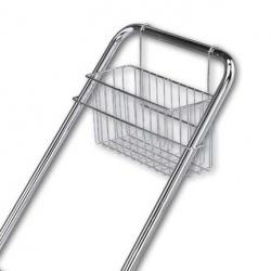 Závěsné košíky k úklidovým a více účelovým vozíkům