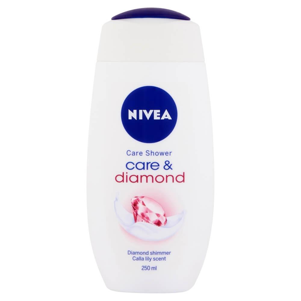 Sprchové gely, šampony a kondicionéry.