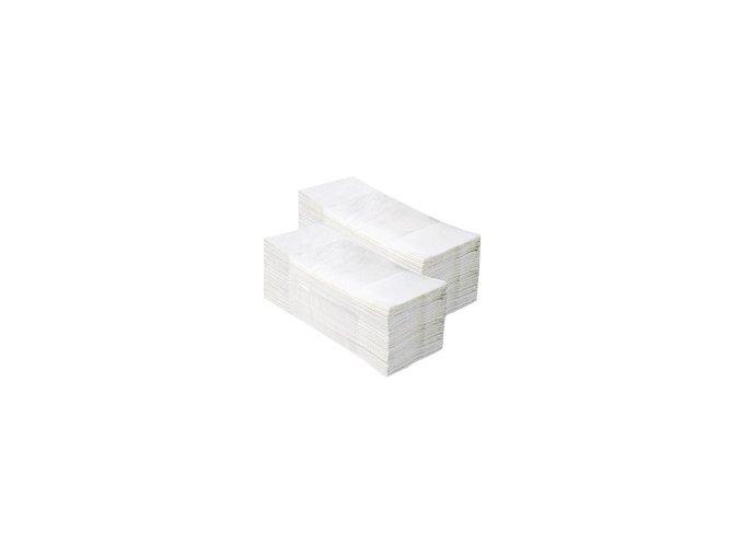 Jednotlivé papírové ručníky Z TOP 2860 ks - 100% celuloza, skládané