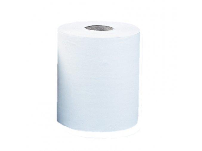 Papírové ručníky v rolích MAXI AUTOMATIC, bílé, 1 vrstvé, (6roíl/balení)