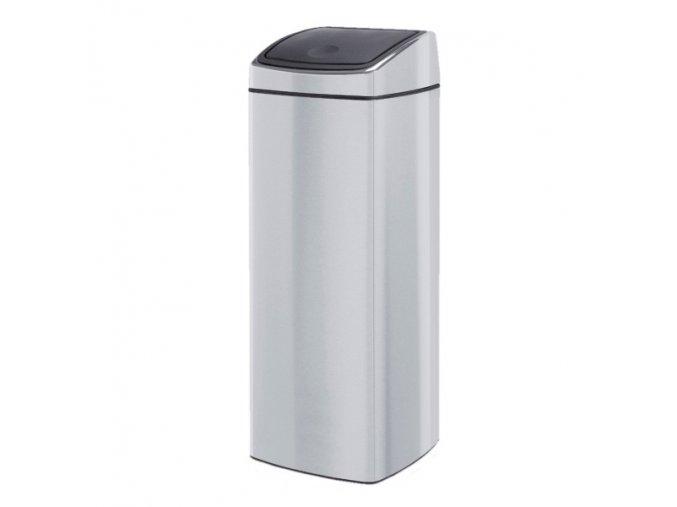 Odpadkový kovový koš s víkem Touch Bin 25 l nerez mat