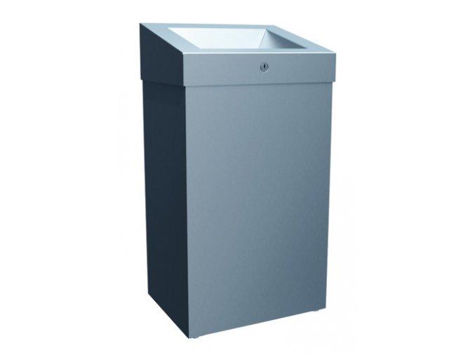 Odpadkový koš závěsný otevřený STELLA 47 l mat