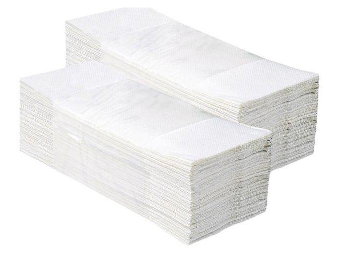 Jednotlivé papírové ručníky 3200 ks, celulóza, 2-vrstvé