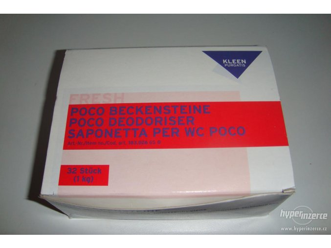 Neutralizační kostky do pisoáru 1 kg