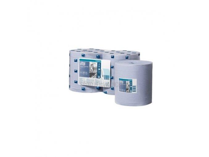 Papírová utěrka v roli TORK Advanced 430, modrá, 2 vr., d-340 m, odvíjená ze            středu- 1ks