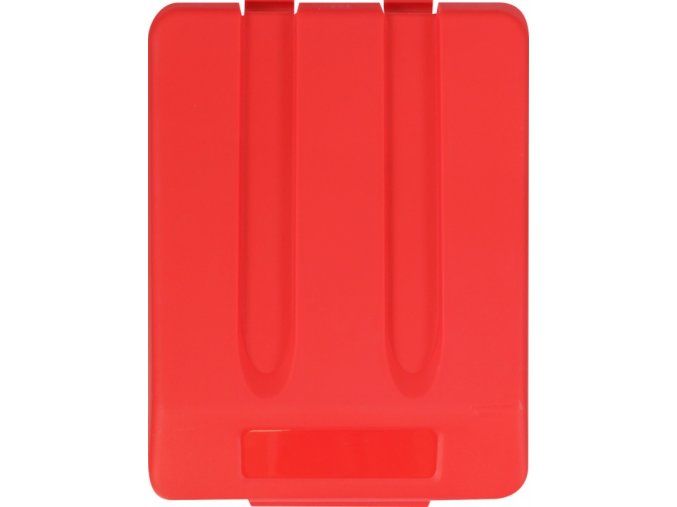 Víko koše KJS704,33 l - červené