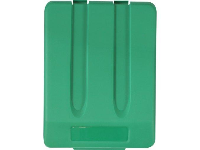 Víko koše KJS704,33 l - zelené