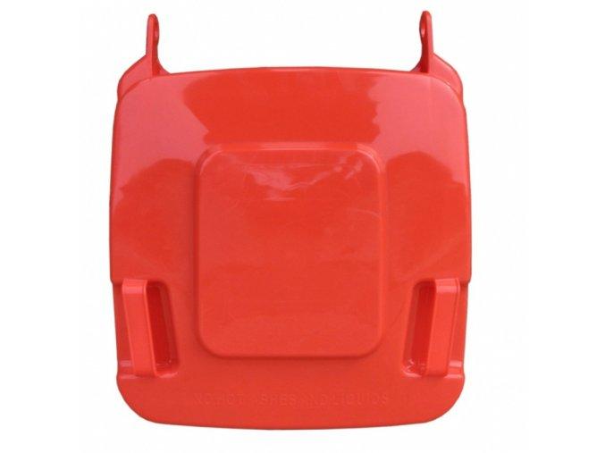 Víko koše KJS412,120 l - červené