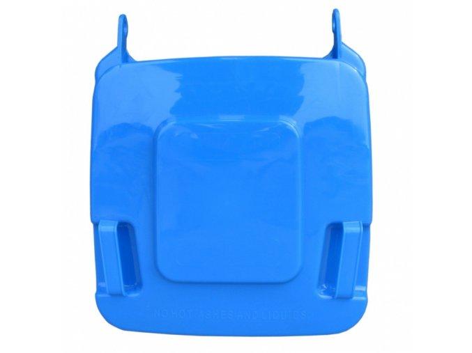 Víko koše KJS412,120 l - modré