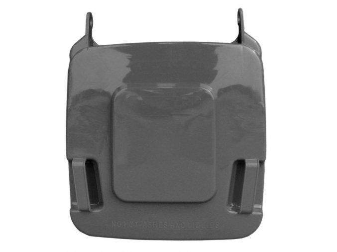 Víko koše KJS412,120 l - černé