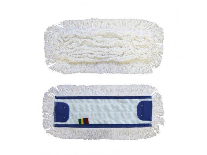 Mop plochý uzlíčkový se záložkami OPTIMUM,bavlna, 40 cm (dříve MO13)