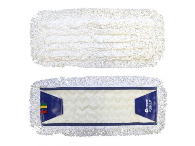 Mop plochý uzlíčkový se záložkami OPTIMUM, bavlna, 50 cm (dříve MO14)