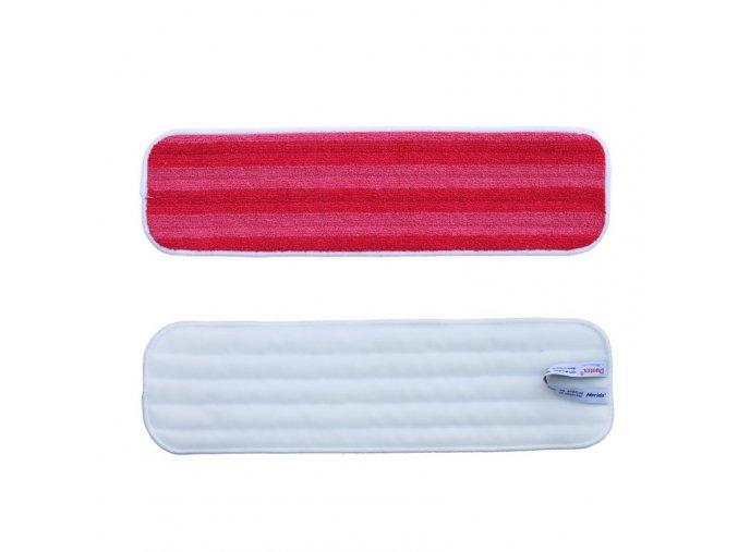 Mop z mikrovlákna PREMIUM červený, 47 cm (dříve MM001)