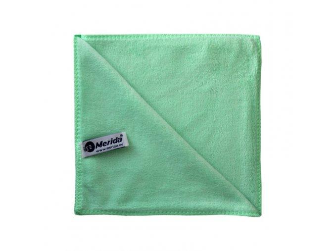 Utěrka z mikrovlákna PREMIUM, zelená