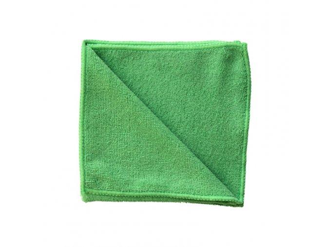 Utěrka z mikrovlákna ECONOMY, zelená, 35x35 cm (dříve MS014)
