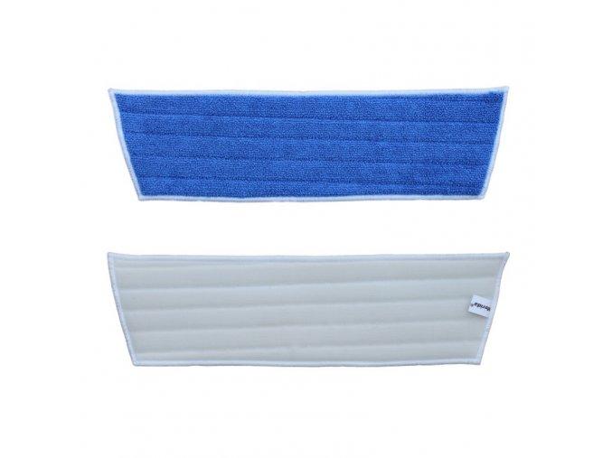 Mop z mikrovlákna ECONOMY na suchý zip, modrý, 45x40x13 cm