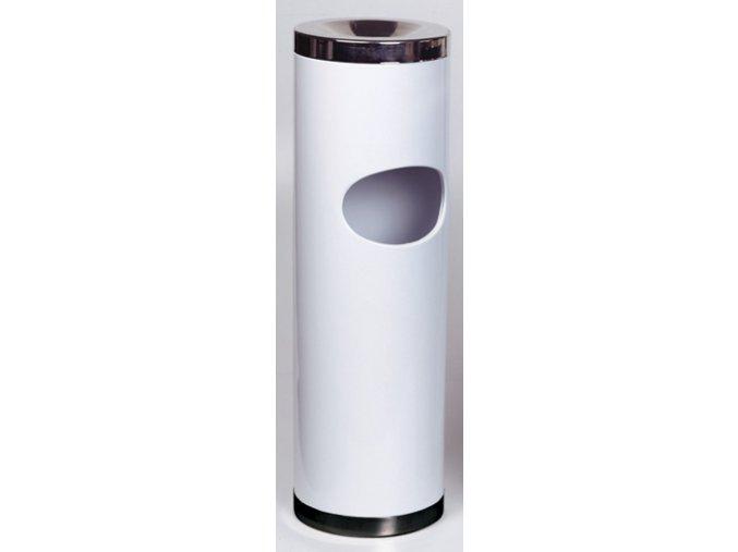 Stojanový popelník - bílý