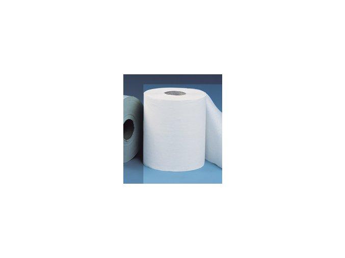 Papírové ručníky v rolích MINI - BÍLÉ, (12rolí/balení)