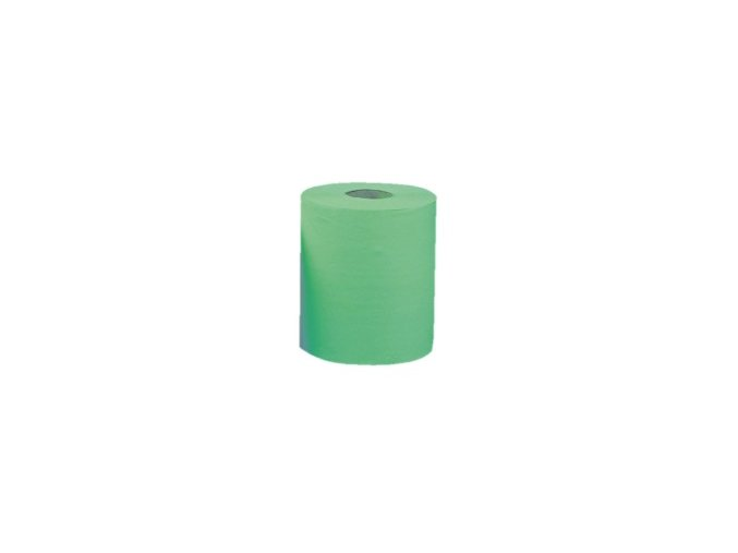 Papírové ručníky v rolích MAXI - ZELENÉ, (6rolí/balení)