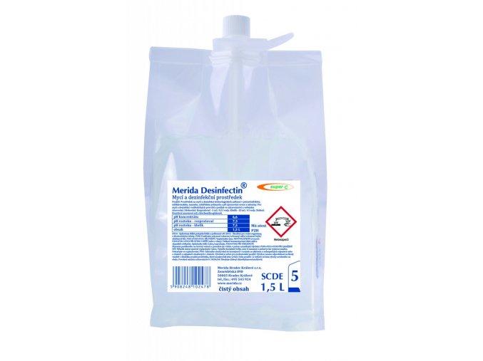 Prostředek na dezinfekci Merida DESINFECTIN Super C