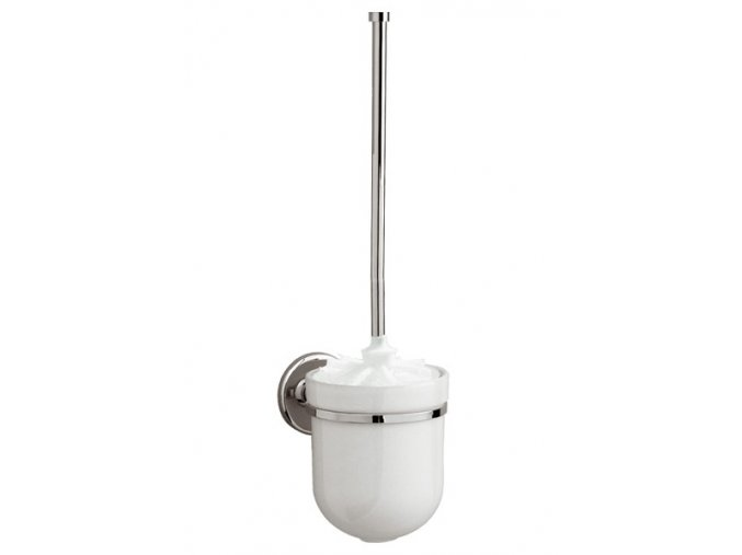 WC souprava kovová závěsná se štětkou bez krytky