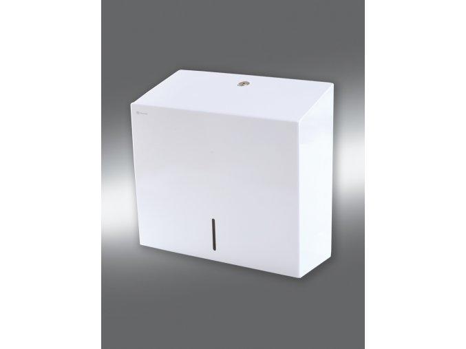 Zásobník na jednotlivé papírové ručníky STELLA MAXI bílý