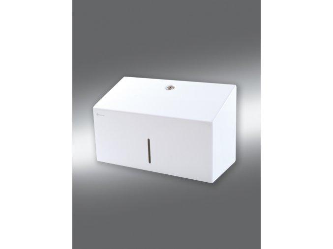 Zásobník na jednotlivé papírové ručníky STELLA MINI bílý