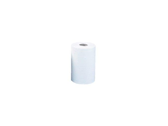 Papírové ručníky v rolích MERIDA OPTIMUM MINI, 2 vrstvé, bílé / dříve ROB203      /