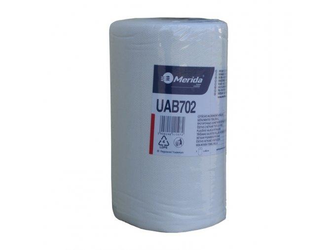 Čistivo z netkané textilie v rolích, bílé, 45 m - 1 role