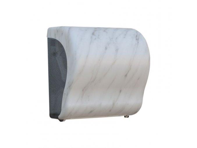 MECHANICKÝ podavač papírových ručníků v rolích Maxi UNIQUE MARBLE LINE Lux Cut      -mat