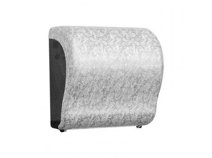 MECHANICKÝ podavač papírových ručníků v rolích Maxi UNIQUE PALACE LINE Lux      Cut-lesk