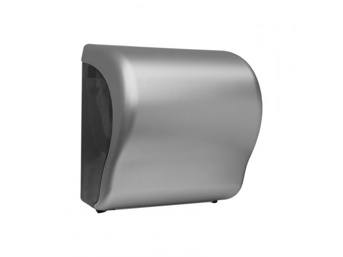 MECHANICKÝ podavač papírových ručníků v rolích Maxi UNIQUE SILVER LINE Lux      Cut-lesk