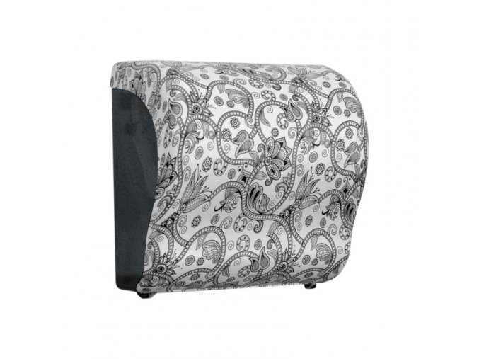 MECHANICKÝ podavač papírových ručníků v rolích Maxi UNIQUE ORIENT LINE Lux      Cut-lesk