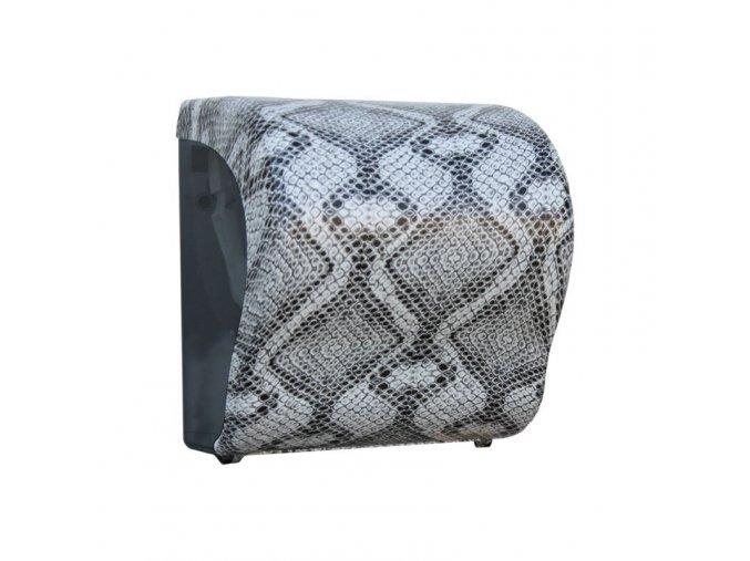 MECHANICKÝ podavač papírových ručníků v rolích Maxi UNIQUE LUXURY LINE Lux      Cut-lesk