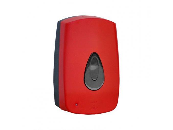 Dávkovač pěnového mýdla AUTOMATIC MERIDA UNIQUE RED LINE - lesk