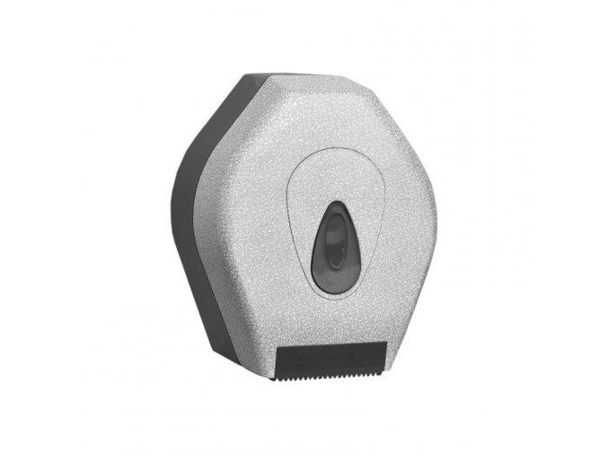 ZÁSOBNÍK na toaletní papír Mini MERIDA UNIQUE GLAMOUR WHITE LINE - mat