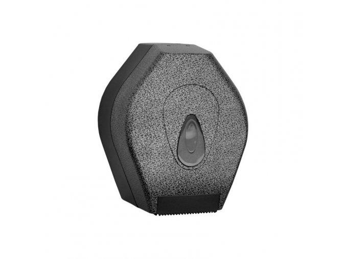 ZÁSOBNÍK na toaletní papír Mini MERIDA UNIQUE GLAMOUR BLACK LINE - lesk
