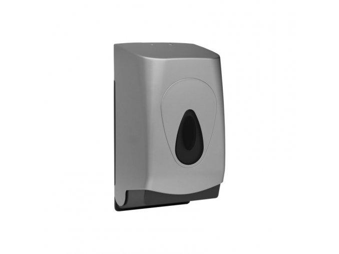 Zásobník na toaletní papír skládaný MERIDA UNIQUE SILVER LINE - lesk