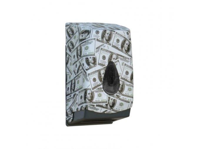 Zásobník na toaletní papír skládaný MERIDA UNIQUE LAS VEGAS LINE - lesk