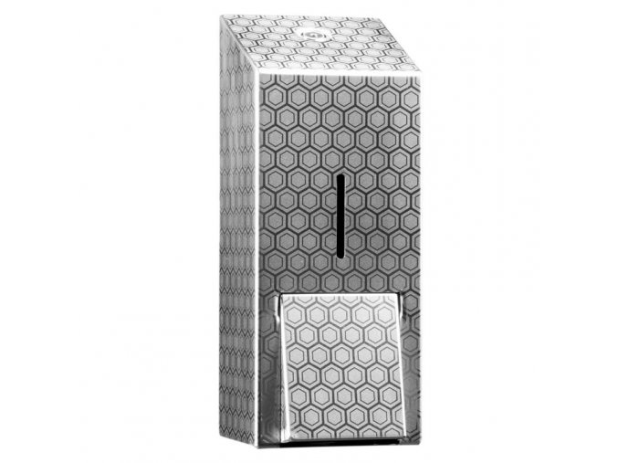 DÁVKOVAČ pěnového mýdla Merida INOX DESIGN honeycomb line, nerez