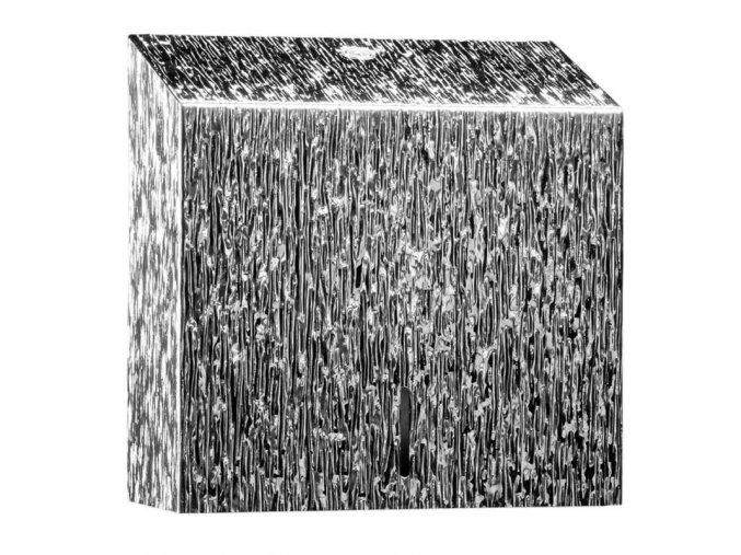 ZÁSOBNÍK na papírové ručníky Maxi MERIDA INOX DESIGN icicle line, nerez