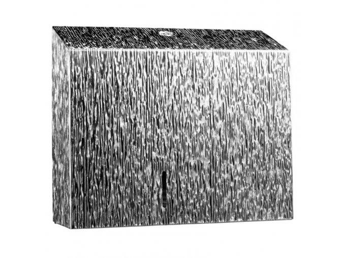 ZÁSOBNÍK na toaletní papír v rolích Duo MERIDA INOX DESIGN icicle line, nerez