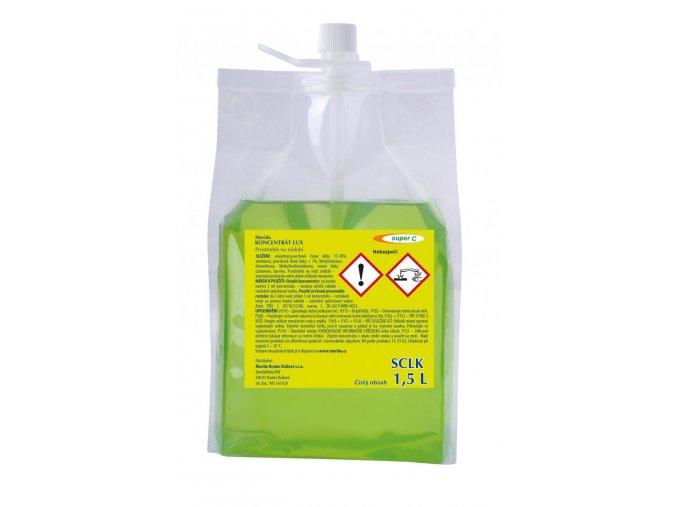 Prostředek na ruční mytí nádobí Merida LUX Super C