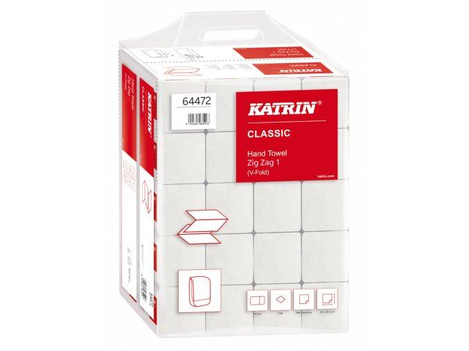 Skládané papírové ručníky KATRIN (64472)